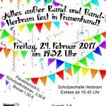 Frauenkarneval 2017 Herbram