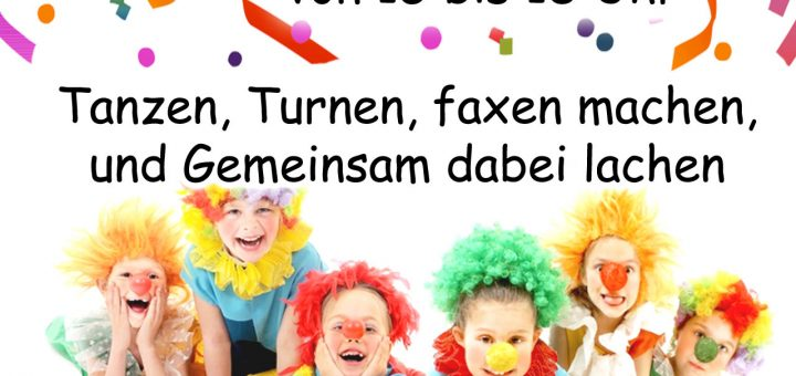 Kinderkarneval 2017