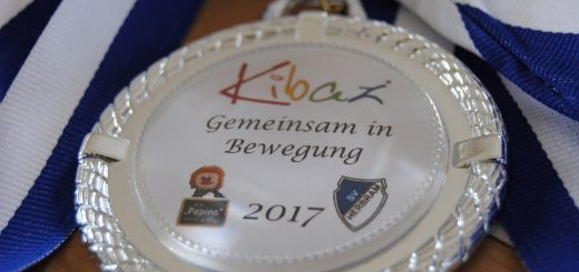 Kibaz 2017 SV Herbram und Kita Pepino Medaille