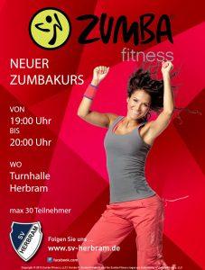 Zumba Flyer Allgemein 19 bis 20 Uhr